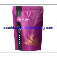 Quality Coffee packaging pouch, stand up pouch with valve, zip lock coffee bag for sale