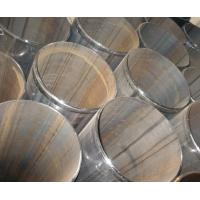 Quality Large diameter ERW Steel Pipe with bevelled ends and welding bead removed for sale