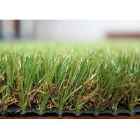 Quality Outdoor Landscaping Fake Grass Long Life Span Artificial Grass For Rooftop / Deck for sale
