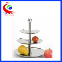 Quality Wedding Display Buffet Restaurant Equipment Decorative Fruit / candy cake display stand for sale