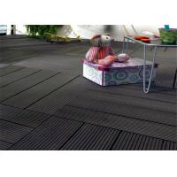Quality Wood  Plastic Composite Easy install Home-decorating DIY Decking Tiles for sale