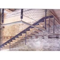 Quality Staircase Protection Stainless Steel Wire Rope Fence Mesh With Strong Toughness for sale