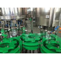China Drinking Water / Beverage Filling Equipment , 3 In 1 Glass Bottle / Can Filling Machine on sale