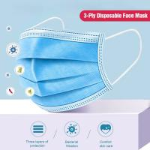 Quality 3 Ply Children'S Disposable Masks Non Woven Ethylene Oxide Sterilization for sale