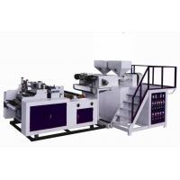 China 500mm Two Layers Stretch Film Making Machine , LLDPE Extruder Machine on sale