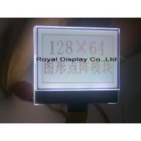 Quality 3.3V Power Supply Dot Matrix Lcd Module With ST7565R 128X64 Dot AA=34.53*21.73mm RYG12864M for sale