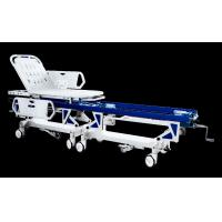 Quality Safe Manual Connection Patient Transport Trolley Prevent Cross Infection for sale