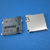 China Push Push Card ,Micro SD T-FLASH Card Connector on sale