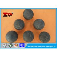 Quality Mineral Processing forged steel grinding balls for mining / Power Plant for sale