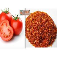 Quality 100% Natural Dehydrated Vegetable Flakes , Sun Dried Tomatoes Bright Red for sale