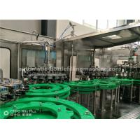 Quality Fruit Juice Making Machine , Flavour Water Hot Filling Bottling Plant for sale
