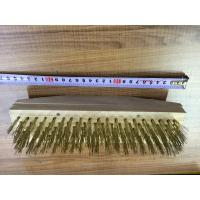 Buy cheap brashesSteel wite & Brass wire Brush from Wholesalers