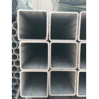 Quality Stainless Industrial Square Steel Pipe , Hot Finish Seamless Square Steel Tubing Plain Ends for sale