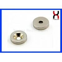 Quality Custom Countersunk Rare Earth Magnets , Strong Countersunk Neodymium Magnets for sale