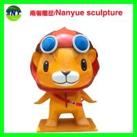 Quality cartoon character  famous statue in customize size by fiberglass for exhibition display model for sale