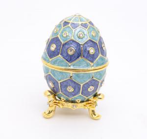 Easter Egg Gift Box Metal Easter Egg Gift Box Pewter Easter Egg Gift Box