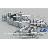 Quality China supplier liquid syrup manufacturing process / liquid syrup manufacturing plant for sale for sale