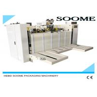 China Smooth Sealing Carton Box Making Machine , Safety Box Stitch Sewing Machine on sale