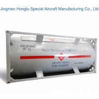 Buy cheap 20ft 20 Feet ASME Standard LPG Liquid Chlorine ISO Tank Container from wholesalers