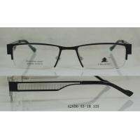 China Retro Black Metal Optical Frames , Spectacles Frames For Men In Fashion on sale