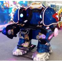 Quality Electric Carnival Bumper Cars Walking Robot Shape 150 Kg Load Weight for sale