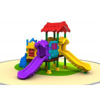 China Shining Colors Kids Plastic Playground Equipment Toddler Garden Toys 4CBM Volume on sale