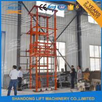 Quality 2.5T 3.6m Warehouse Hydraulic Elevator Lift for Goods , 3-6m/min for sale