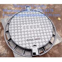 Quality ductile iron manhole covers and frame for sale