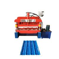 Buy CE Hydraulic Tile Making Machine Glazed Tile Forming Machine With 11 Rollers at wholesale prices