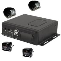 Quality 360 Degree Car Camera DVR 4G Wifi Live CMOS Vehicle Tracking System For Taxi for sale