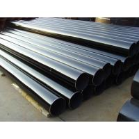 Quality Gas Line Round Carbon ERW Steel Pipe , 12M Length ERW Schedule 40 Pipe for sale