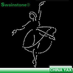 Quality Custom rhinestone gymnastics transfers, bling rhinestone transfers gymnastics, wholesale g for sale