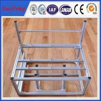 China custom aluminum extrusion computer cases, china aluminum frame for natural anodized on sale