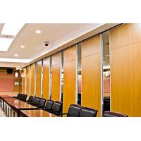 Quality Soundproof Wall Panel Sliding Operable Office Partition Walls 65mm Thickness for sale