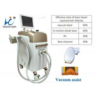 Quality Mini Pain Free Permanent Vacuum Laser Hair Removal Equipment For Men Use for sale