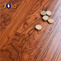 China Hot Chinese black wood effect wooden floor tiles on sale