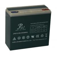 China 12V 20AH Rechargeable Sealed Lead Acid Battery For Electric Scooter / Electric Bicycle on sale