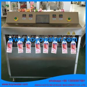 Quality ice pop bag juice/milk/water/honey/yogurt tube production line for sale