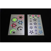 Quality Special newest temporary tattoo, fluorescent tattoo sticker bright star for sale