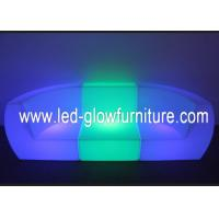 Quality Commercial LED lighted sofa / couch , glowing illuminated furniture with led lights for sale