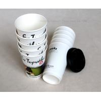 Quality 8oz 14oz 16oz Take Away Biodegradable Paper Cups , Customized Disposable Tea Cups for sale