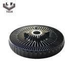 Quality ADC12 Powder Coating Aluminium Die Castings Sun Flower Aluminum CPU Heat Sink for sale