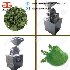 Quality MultifunctionalDry Moringa Leaves Powder Grinding Machine Low Price for sale