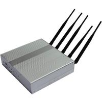 Quality Factory,5 band 12.5W high power GPS Cellphone signal jammer blocker isolator shield GPS CDMA GSM DCS 3G,cover 50m for sale