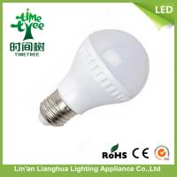 Quality Energy Saving LED Light Bulb 7W , 220V / 110 V/ 12V Plastic A60 LED Bulb for sale