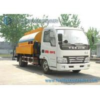 Quality YUEJIN 2 Axles Asphalt Tanker Trailer Bitumen Asphalt distributor truck 4X2 Drive for sale