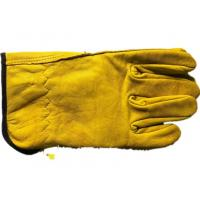 Quality No Lining Short Sheepskin Beekeeping Gloves Abrasion Resistant without Sleeve for sale