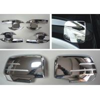 Quality ISUZU D-MAX Body Decoration Parts Chromed Handle Inserts and Side Mirror Covers for sale