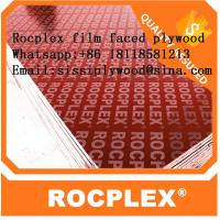 China Red film faced plywood, 18mm film faced construction shuttering plywood, construction pine plywood on sale
