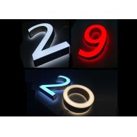Quality Customized Acrylic Channel Letter 3d Led Display Letter Sign for sale